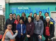 Sodexo volunteers get into the giving spirit for the Vancouver Food Bank